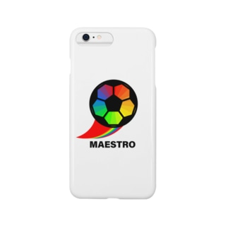 サッカーボール(マエストロ) Smartphone cases