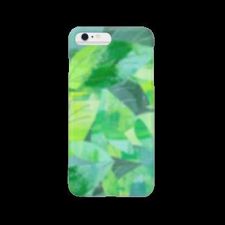 shirokumasaanの茶葉 Smartphone cases