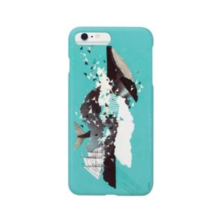 くじらと舟旅 Smartphone cases