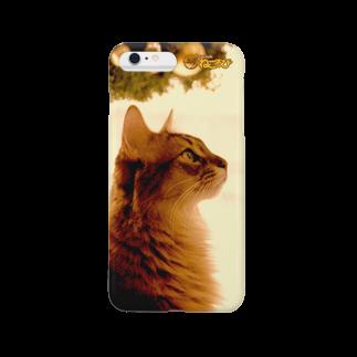 Cat Cafe ねころびのよりともiPhoneケーススマートフォンケース
