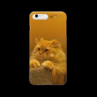 Cat Cafe ねころびの茶々丸iPhoneケース スマートフォンケース