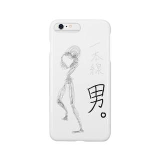 一本線男。 Smartphone cases