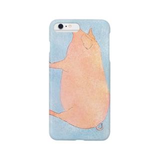 ぶた Smartphone cases