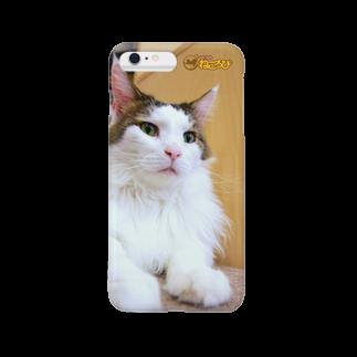 Cat Cafe ねころびのシュガーiPhoneケース スマートフォンケース
