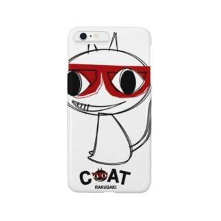 キャッティ(オフィシャル)ネコ好き集まれ!!のシルエットキャッティ Smartphone cases