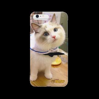 Cat Cafe ねころびのさつきiPhoneケーススマートフォンケース