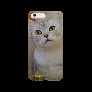 Cat Cafe ねころびのどらえもんiPhoneケース スマートフォンケース