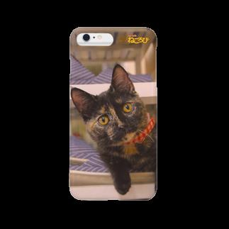Cat Cafe ねころびのわさびiPhoneケース スマートフォンケース