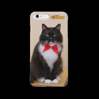 Cat Cafe ねころびのフィガロiPhoneケース スマートフォンケース