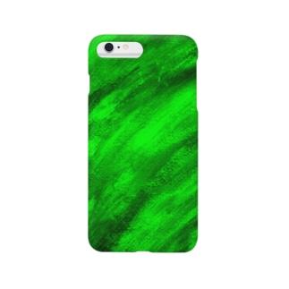 緑 Smartphone cases