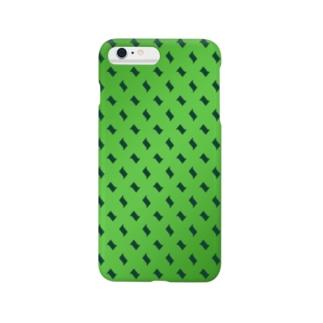 グリーングラデーション Smartphone cases