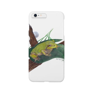 Frog on the branch Smartphone cases