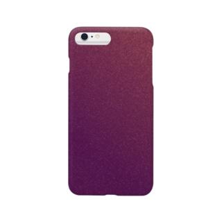 ノイズ紫 Smartphone cases