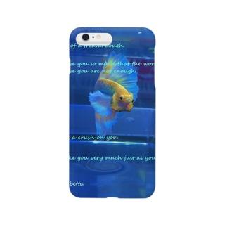 ベタの求愛 Smartphone cases