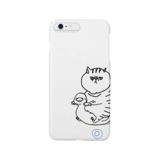 おまる◎ネコ Smartphone cases