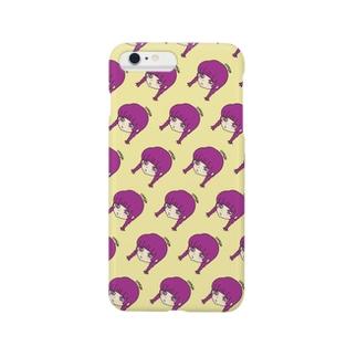 osageちゃん黄色 Smartphone cases