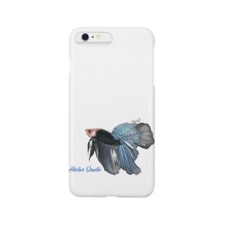 ショーベタ ブルーブラック Smartphone cases
