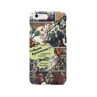「RUN」アメコミネズミ編 Smartphone cases