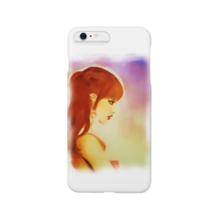 Moody Girl Smartphone cases