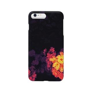 夜桜見物 Smartphone cases