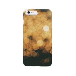 【玉ボケ花火】iPhoneケース Smartphone cases