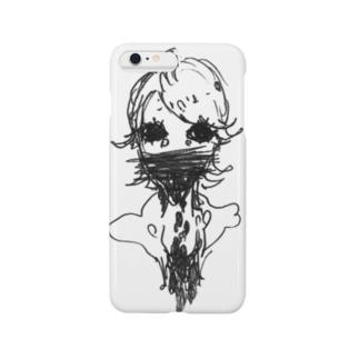 ぼたぼた Smartphone cases