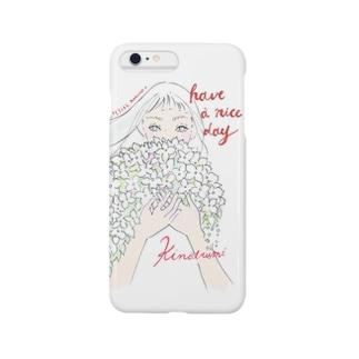 白い華 Smartphone cases