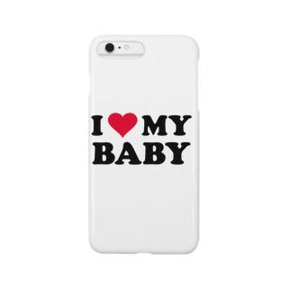 I ♡ MY BABY Smartphone cases