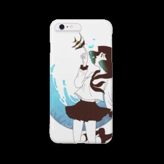 Acabane* Shopの海中少女2 Smartphone cases