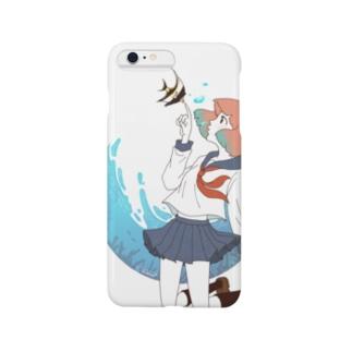海中少女 スマートフォンケース