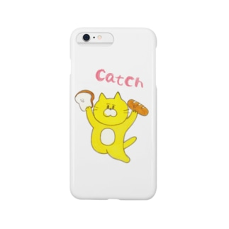 パンをcatch Smartphone cases