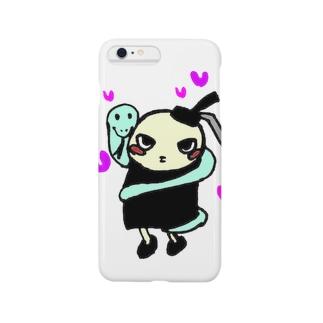 亀童丸くんグッズ Smartphone cases