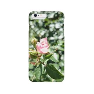 一輪の薔薇 Smartphone cases