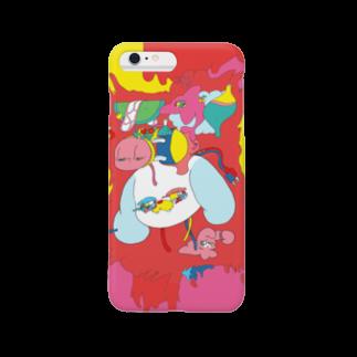 影山紗和子の犬 Smartphone cases