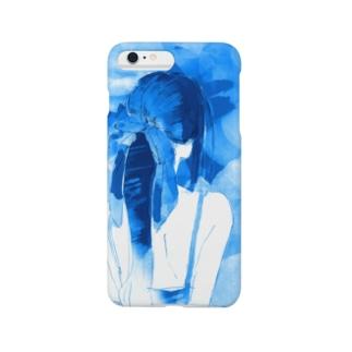 冷やしポニテ Smartphone cases