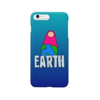 EARTH - チキュウ Smartphone cases