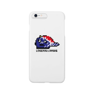LONPARI 8BITS 「CAAAAP」 Smartphone cases