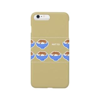 納豆 Smartphone cases