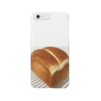 パンが焼けたよ Smartphone cases