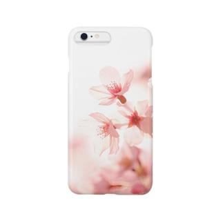 薄桜 スマートフォンケース