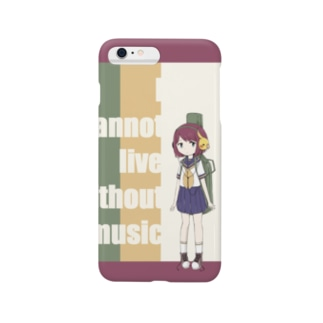 Guitar Girl Smartphone cases