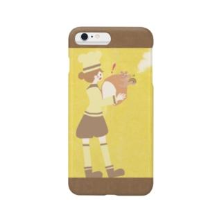 iPhoneケース(iPhone6 Plus / 6s Plus用)◆ ema-emama『pain-de-mie』 Smartphone cases