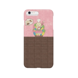 iPhoneケース(iPhone6 Plus / 6s Plus用)◆ ema-emama『sweet-cat』 スマートフォンケース
