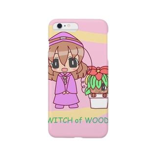 魔女の森 Smartphone cases