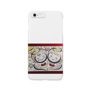 ♪双子の愛天使♪ Smartphone cases