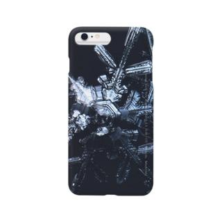 2月3日16:00 十勝岳の雪 Smartphone cases