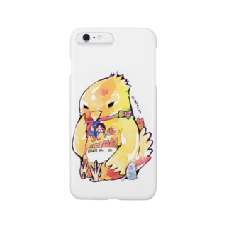 ポケットの鳥の宝物 スマートフォンケース