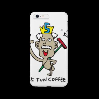 kennyの5 FUN COFFEE GOD Smartphone cases