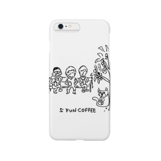 5 FUN COFFEE cat Smartphone cases