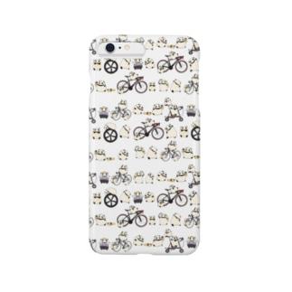 もにょぱんだ自転車1 スマートフォンケース